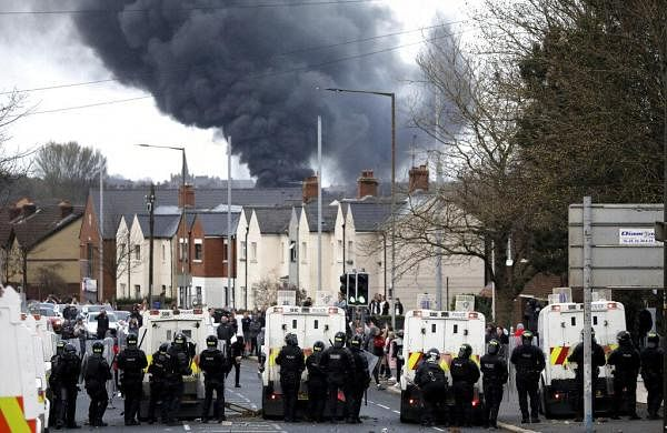 What is behind the latest unrest in NorthernIreland?- The New Indian Express