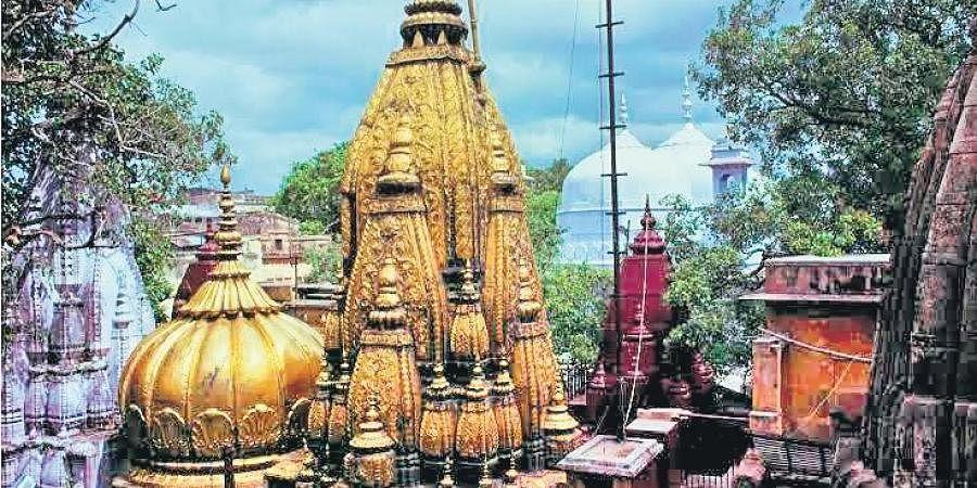 The Kashi Vishwanath temple in Varanasi