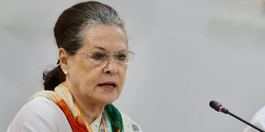 Congress interim chief Sonia Gandhi