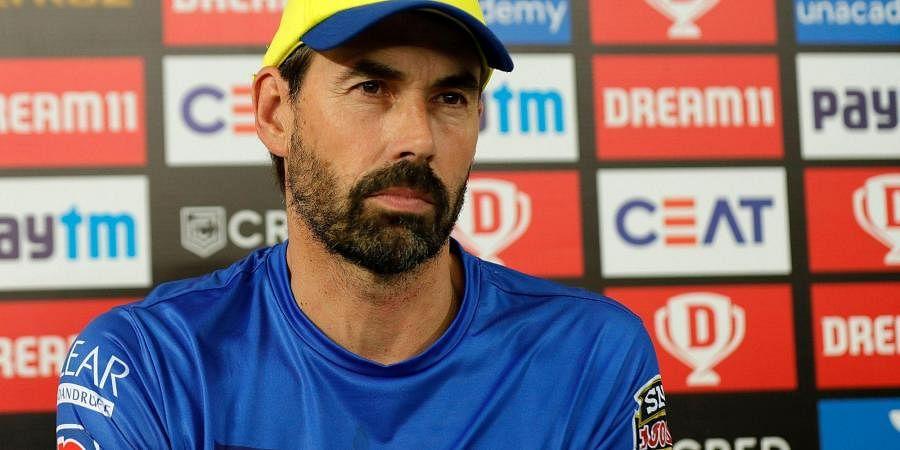 Stephen Fleming coach of Chennai Superkings. (Photo | IPL)