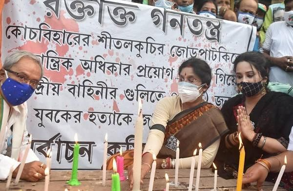 Cooch Behar firing: Gloom descends on Bengal village as bodies taken for burial