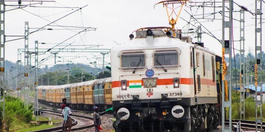Special train heading from Mysuru to Bengaluru. (Photo| EPS)