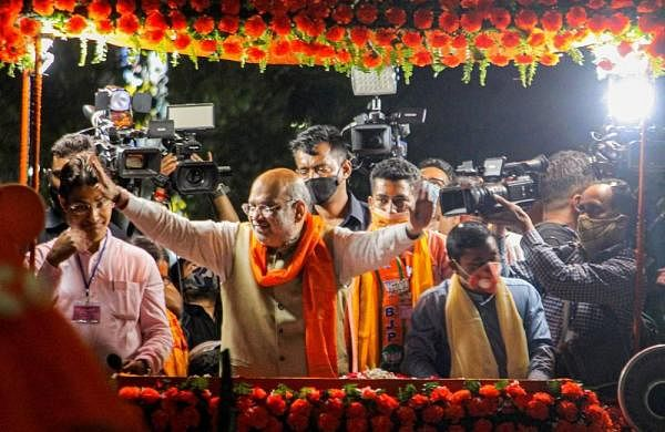 BJP to hold 2,000 small 'potho sabhas' in and around Kolkata addressed by Shah, Nadda and others