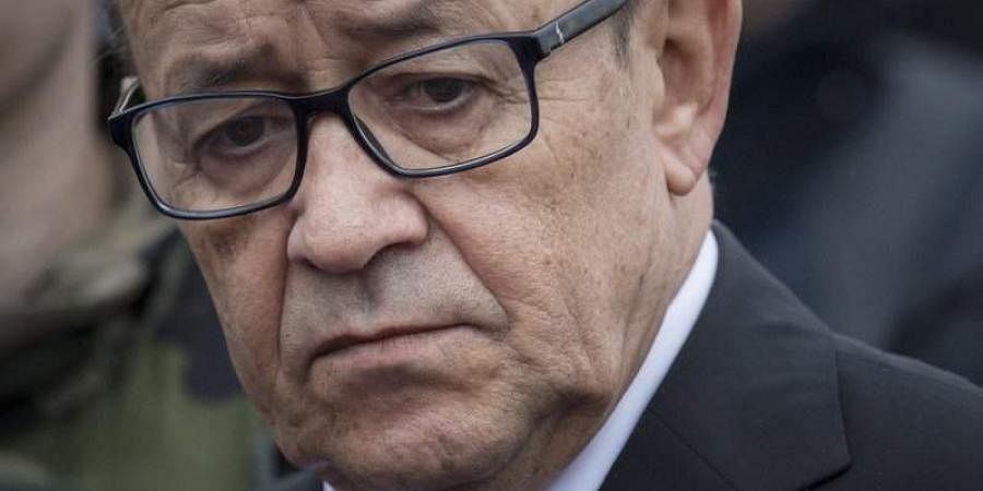 Jean-Yves Le Drian, Minister for Europe and Foreign Affairs of France. (File   AP)