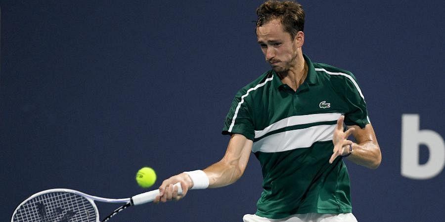 ATP World Number Two Daniil Medvedev