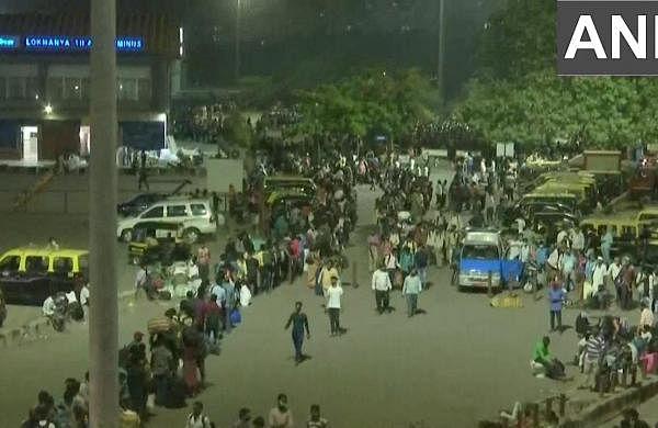 Passenger rush outside LTT, CR asks people not to panic