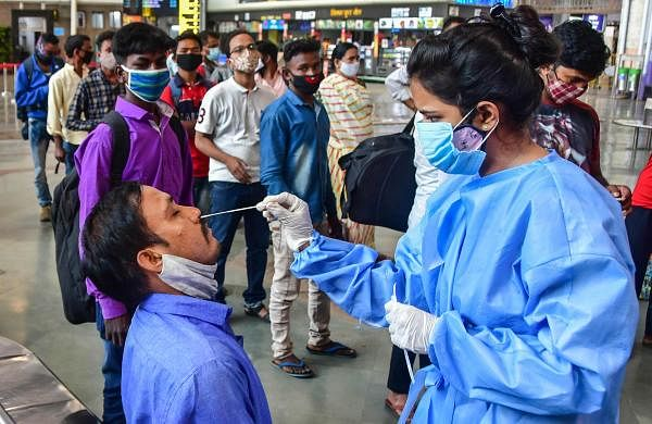 COVID-19: Highest-ever single day spike in India with 2,17,353 fresh cases; 1185 deaths reported