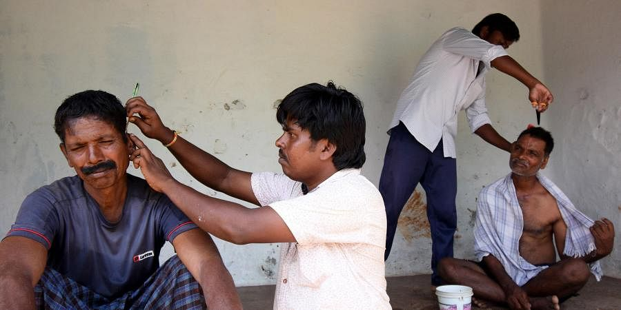 Dalit villagers