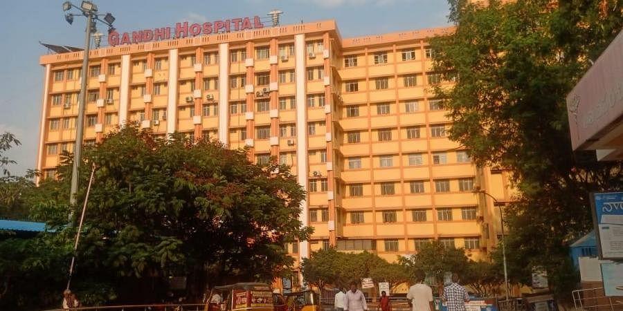 Gandhi hospital, Hyderabad. (Photo | Vinay Madapu, EPS)