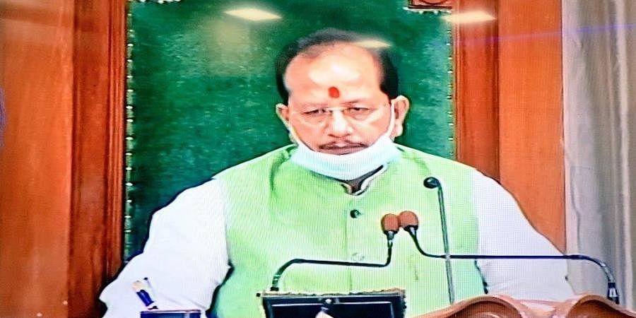 Speaker of Bihar Legislative Assembly Vijay Kumar Sinha