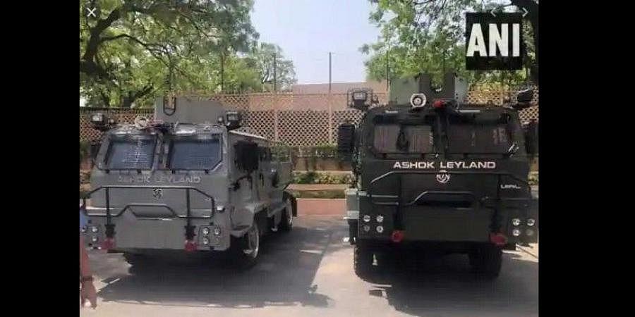 Ashok Leyland's light bulletproof vehicle for IAF