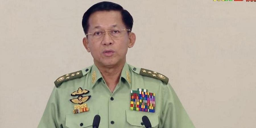 Myanmar junta leader General Min Aung Hlaing