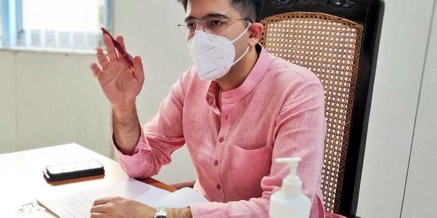 AAP national spokesperson Raghav Chaddha (Photo   Office of Raghav Chaddha, Twitter)