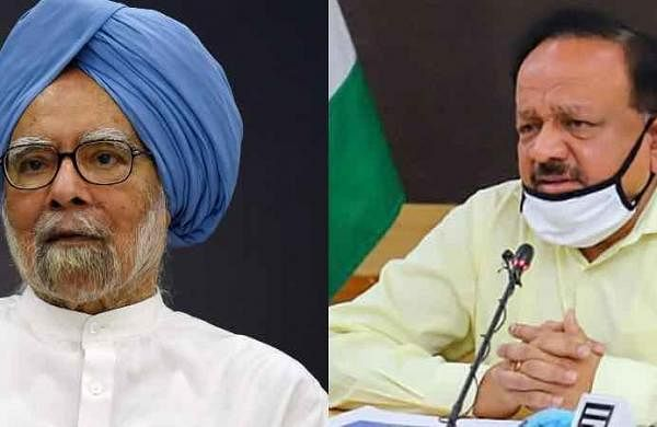 'Cong-ruled states busy doubting vaccines': Harsh Vardhan slams Manmohan Singh over letter to PM