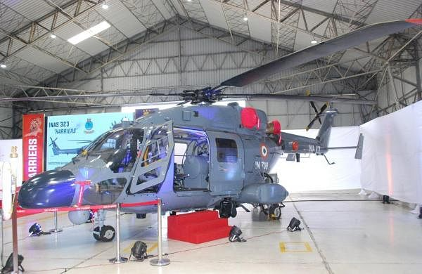 Indian Navy's first unit of indigenously-built Advanced Light Helicopters enters service