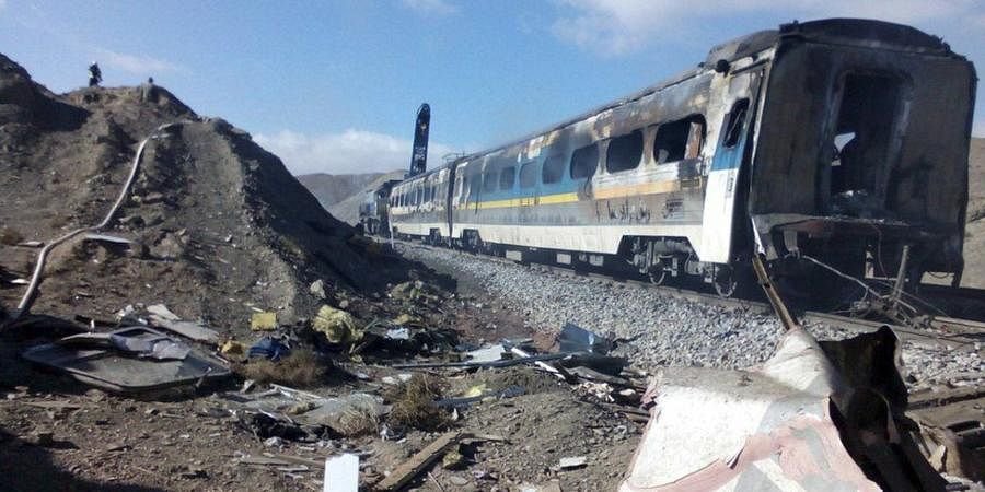 Iran collision: Two trains collided and one caught fire in the northern province of Semnan on November 25, 2016, killing 44 people and injuring dozens more, in one of Iran's worst ever rail disasters. The crash was put down to human error.