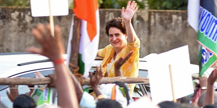 Congress general secretary Priyanka Gandhi (File Photo   B P Deepu, EPS)