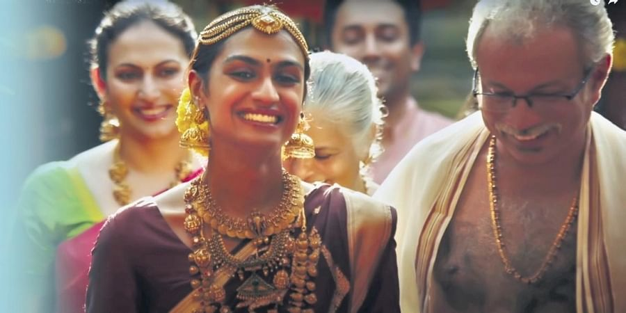 The ad which features transperson and activist Meera Singhania traces the journey of a transwoman from childhood to marriage.