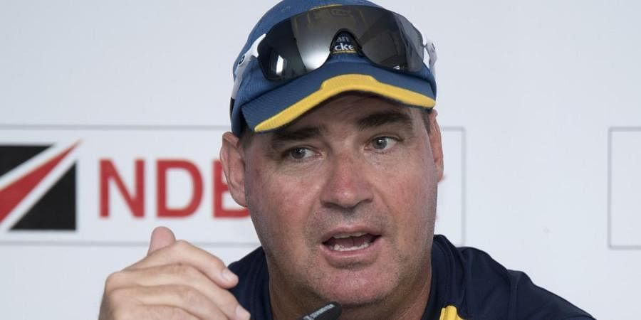 Sri Lankan head coach Mickey Arthur