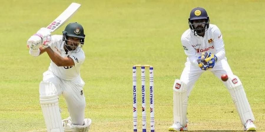 Bangladesh batsman Najmul Hossain
