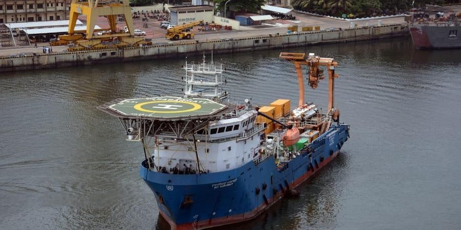 Indian navy  Deep Submergence Rescue Vessel