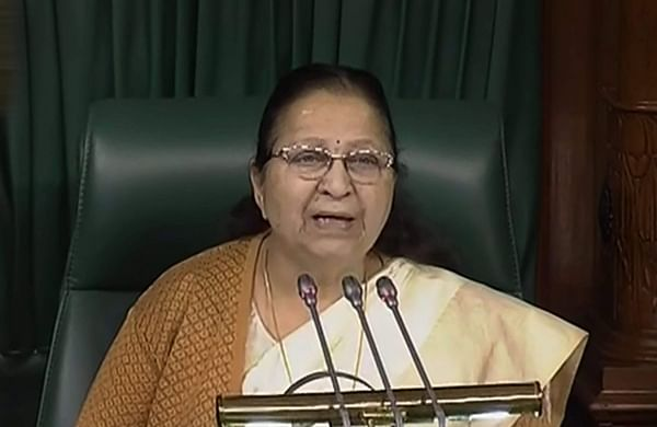 'Lok Sabha Speaker should look into news of my death': Sumitra Mahajan hits out at Tharoor, media