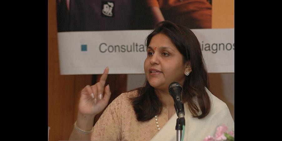 Sangita Reddy, Apollo Hospitals Joint Managing Director. (Photo | Express)