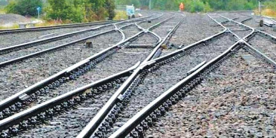 railway, rail track