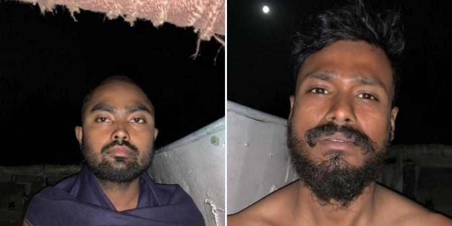 Those rescued are Alakesh Saikia and Mohini Mohan Gogoi.