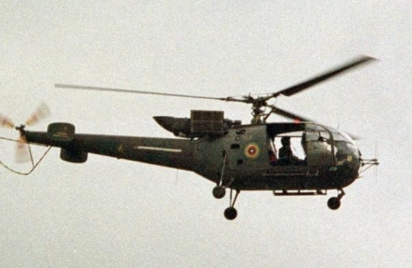 Army helicopter crashes in Ranjit Sagar Dam: Pathankot SSP