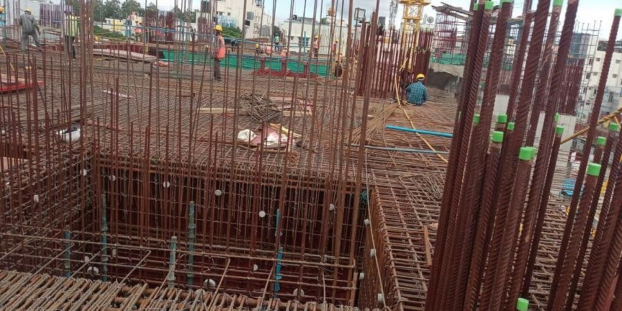 Bangalore Metro contractors are feeling impacted due to Oxygen shortage the lifeline for cutting and welding works in structural steel.