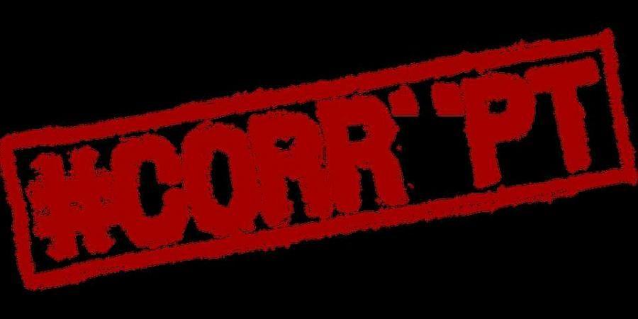 corruption, bribe