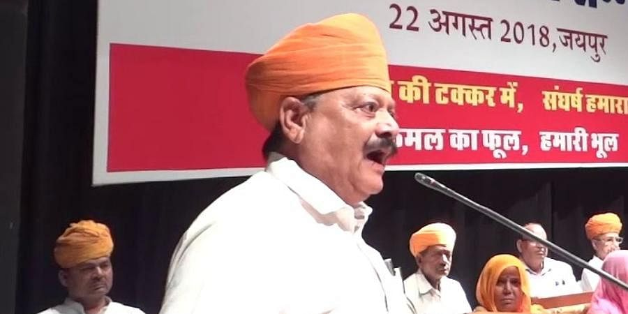 Rajput leader Giriraj Singh Lotwara
