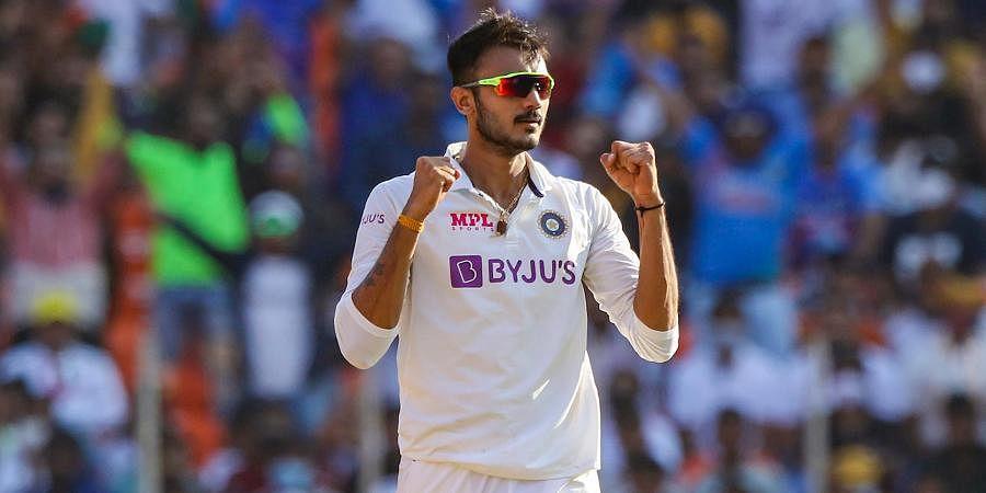 Indian bowler Axar Patel
