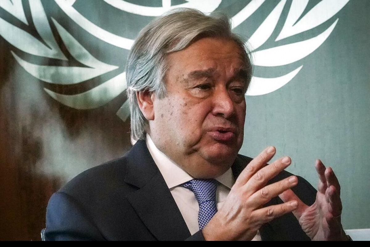 UN stands ready to step up support to India Antonio Guterres on ...