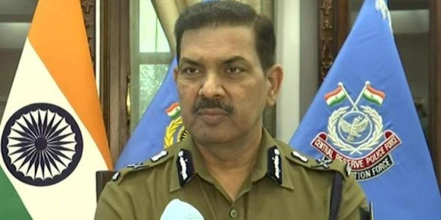 CRPF director general Kuldiep Singh