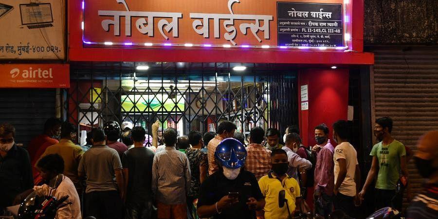 Mumbai wine shop | ANI