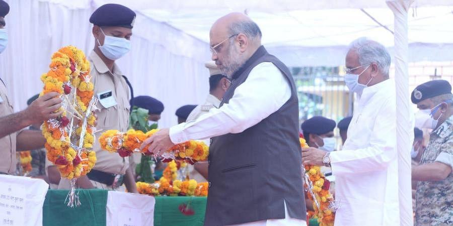 Amit Shah, Bhupesh Baghel