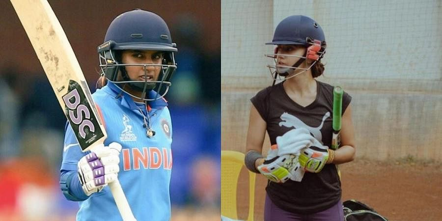 Indian cricketer Mithali Raj (L), Bollywood actor Taapsee Pannu (R) (Photos   Instagram, Facebook)