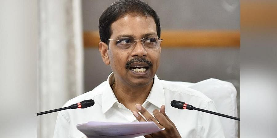 TN Chief Electoral Officer Satyabrata Sahoo said the State Election Department has been sending reports to the EC on a daily basis (Photo | P Jawahar, EPS)