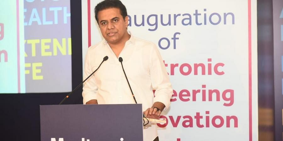 Telangana IT and Industries Minister KT Rama Rao