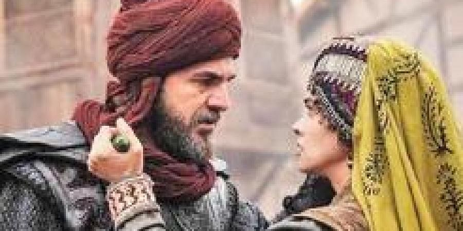 A still from the historical Turkish series Ertugrul.