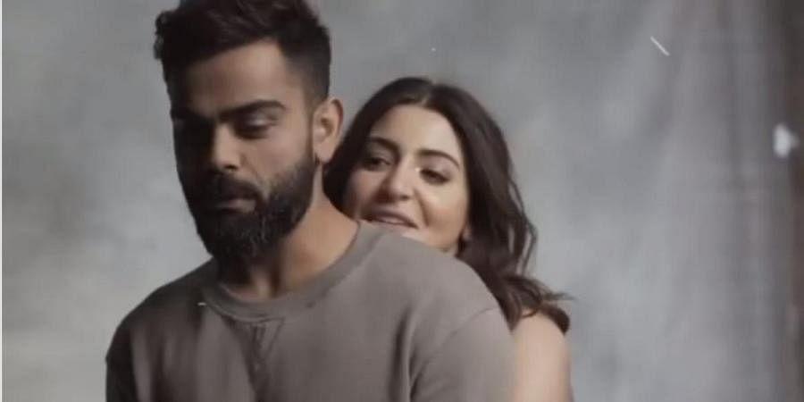 Virat Kohli and Anushka Sharma in the video