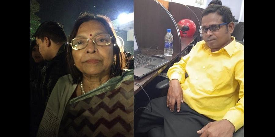 Mamatha Basu and Debrath Behra
