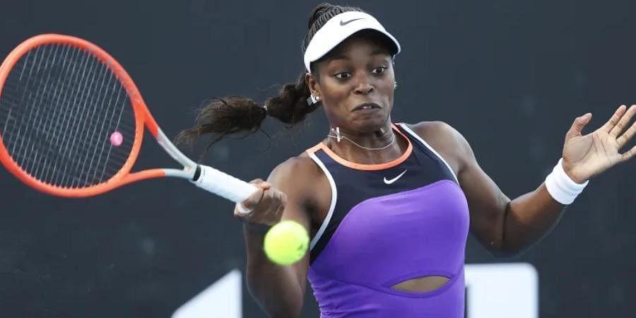 Former US Open champion Sloane Stephens