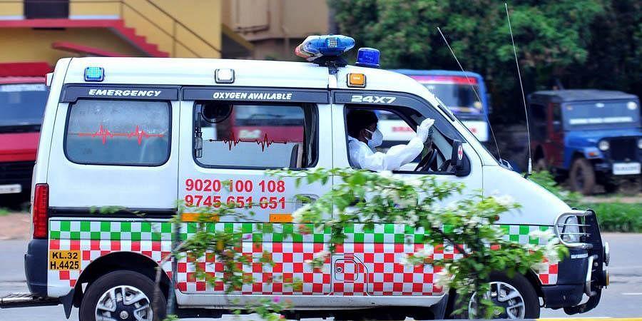 covid ambulance, covid cremation, covid rule violation