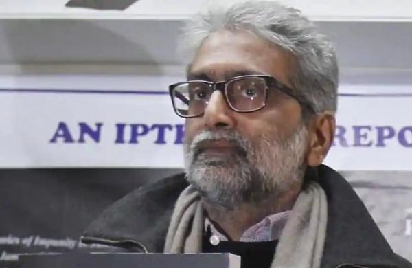 Elgar Parishad accused Gautam Navlakha shifted to 'Anda cell' in Taloja prison which affected his health, claims his partner