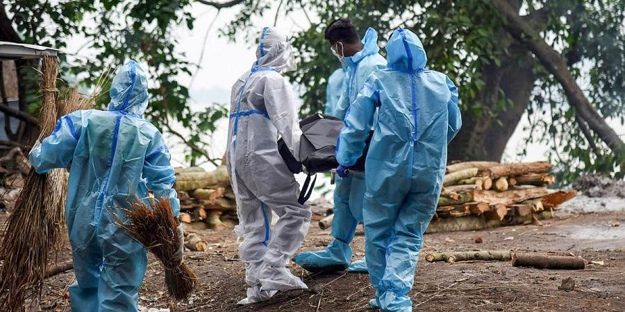 Coronavirus death, covid death, cremation