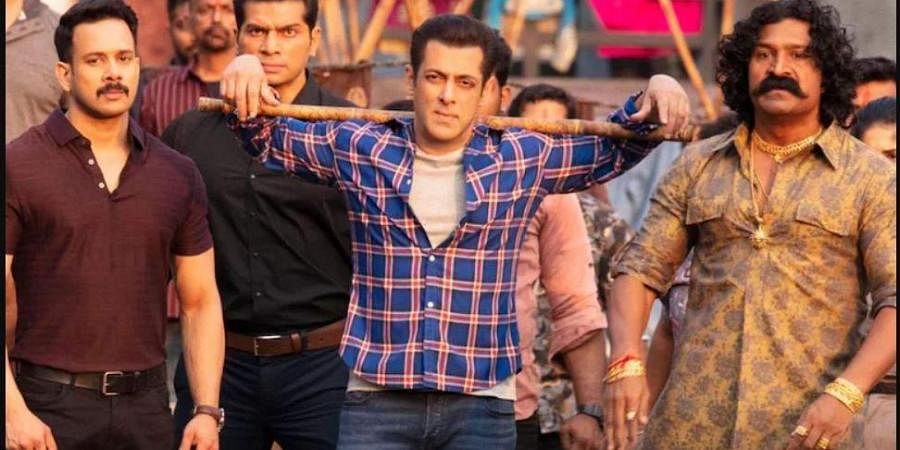 A still from 'Radhe: Your Most Wanted Bhai'