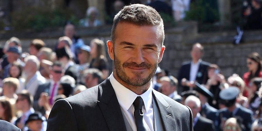 Former England football team captain David Beckham